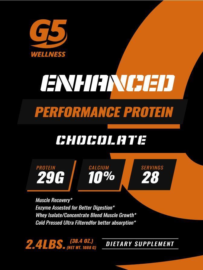 G5 Wellness Chocolate Protein Powder