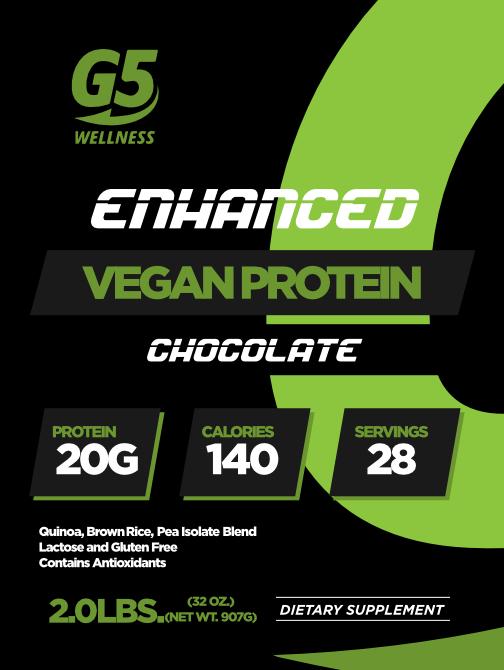 G5 Wellness Chocolate Vega Protein